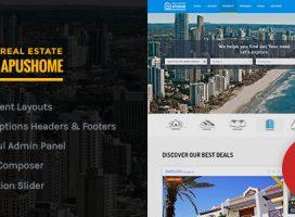 ApusHome — Real Estate WordPress Theme