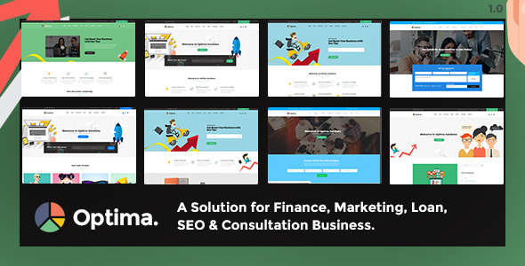 Optima — Multiple Solutions For Business WordPress Theme