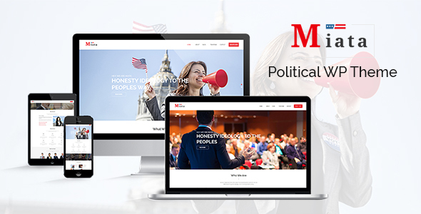 Miata – Political WordPress Theme