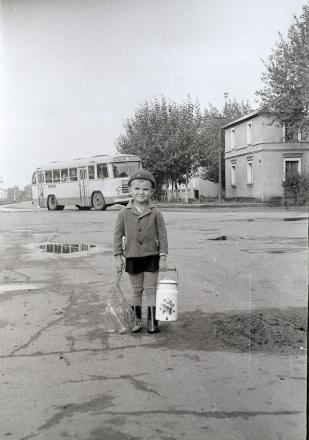 Омск, конец 60-х. Чудесная фотка!