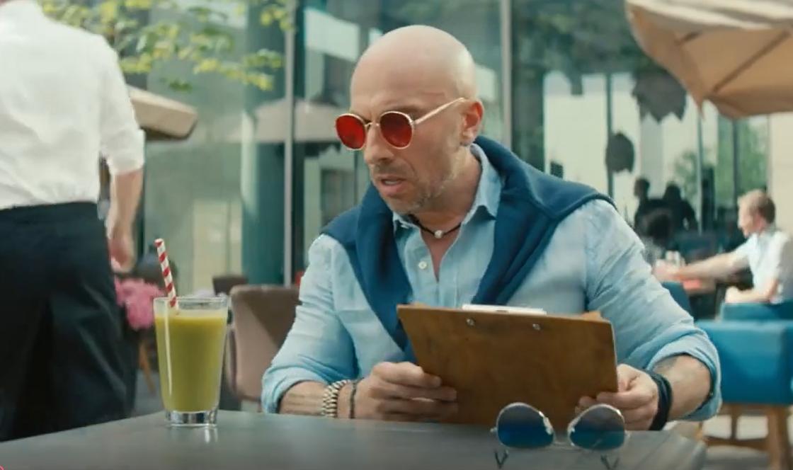 Кадр из рекламного ролика МТС Волшебные очки