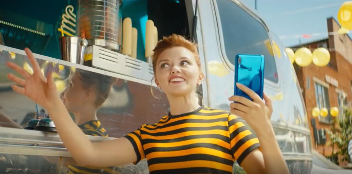 Реклама компании Билайн