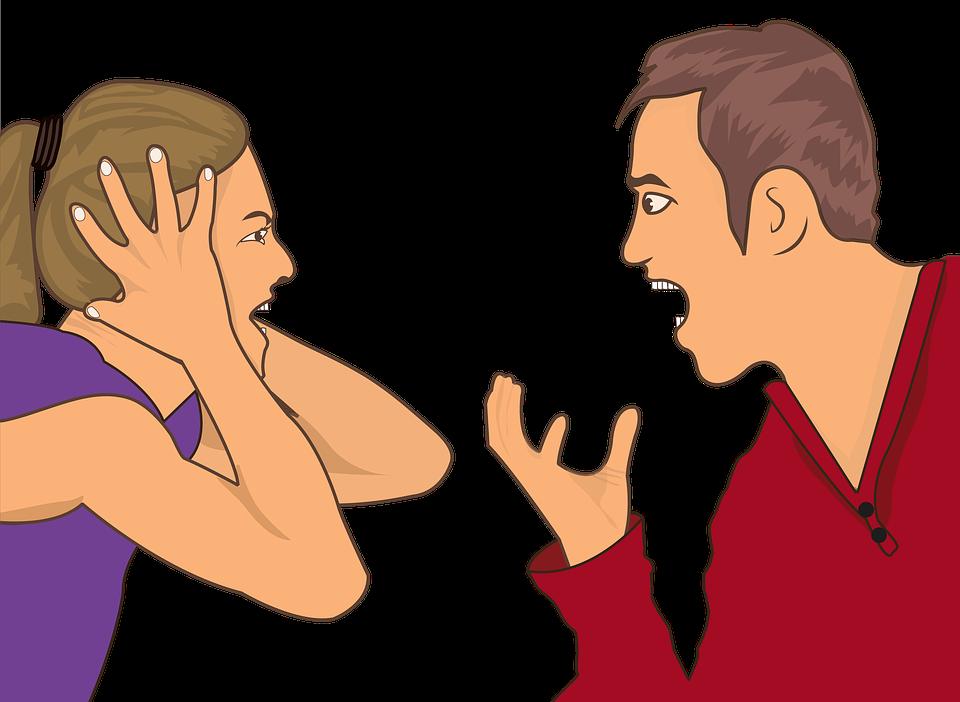Как перестать кричать на супруга (странный трюк языка)