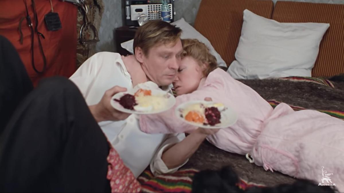 «Любовь и голуби» 1984 г., киностудия «Мосфильм» режиссёр Владимир Меньшов