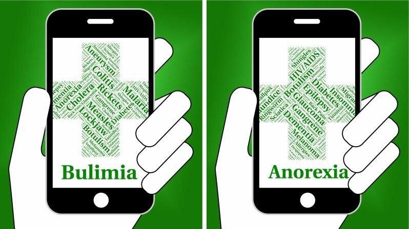 Различия между булимией и анорексией